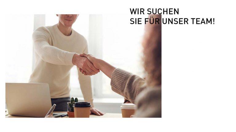 Bild mit Anzeige um neue Leute anzuwerben